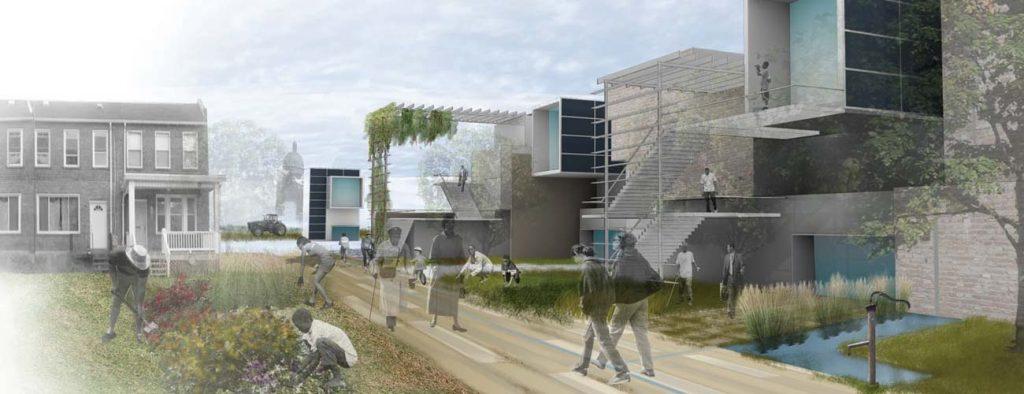 Larimer Pittsburgh Community Vision, Living Cities Masterplan
