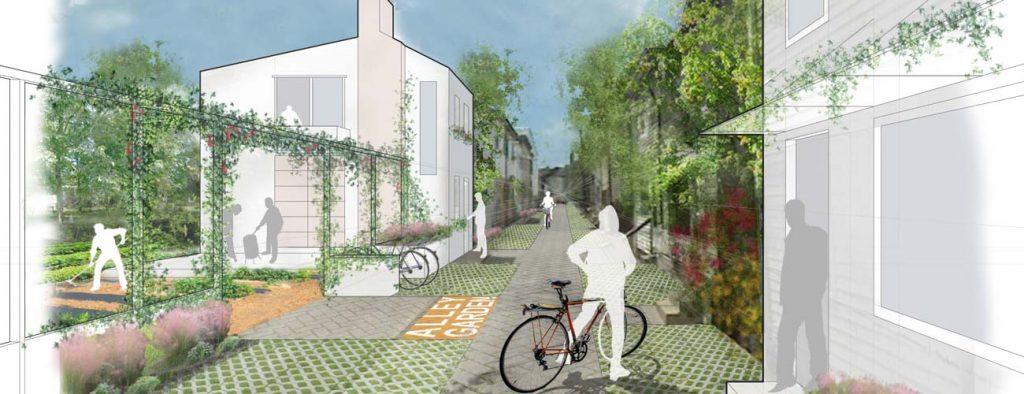 Upper Lawrenceville Alley Housing Design