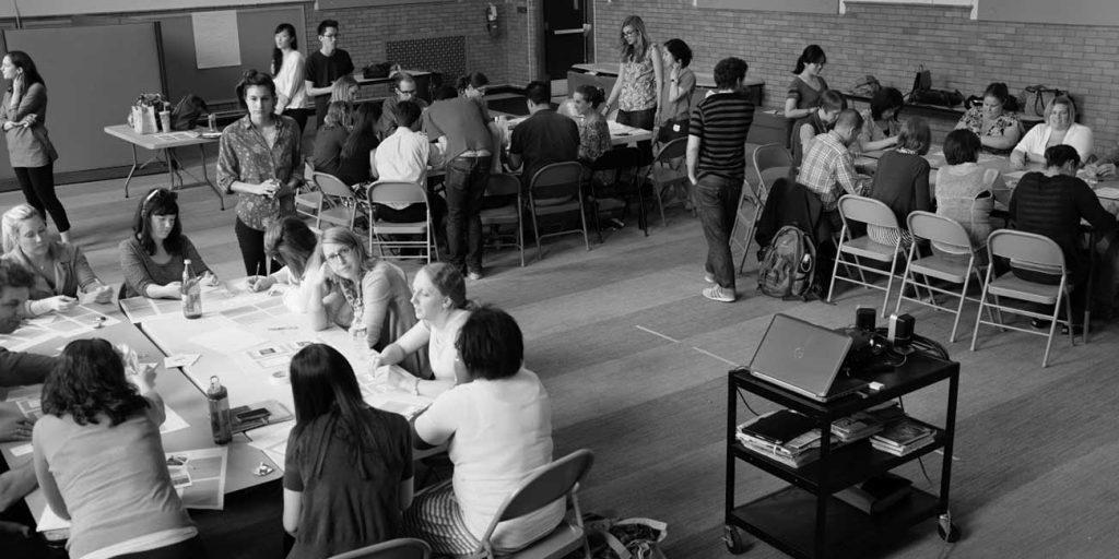 evolveEA Design Charrette with Environmental Charter School