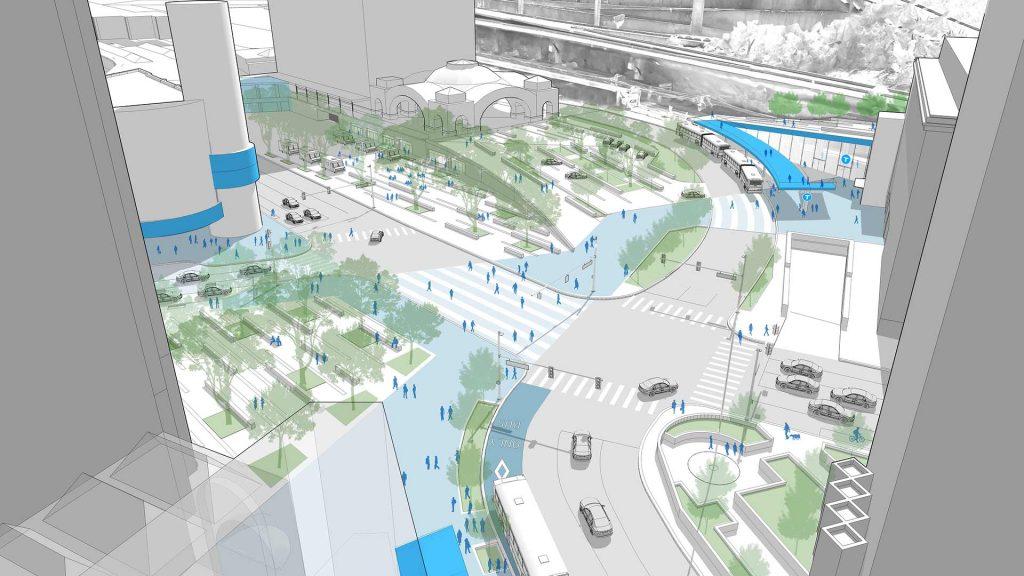 Busway Futures Penn Station Design | evolveEA