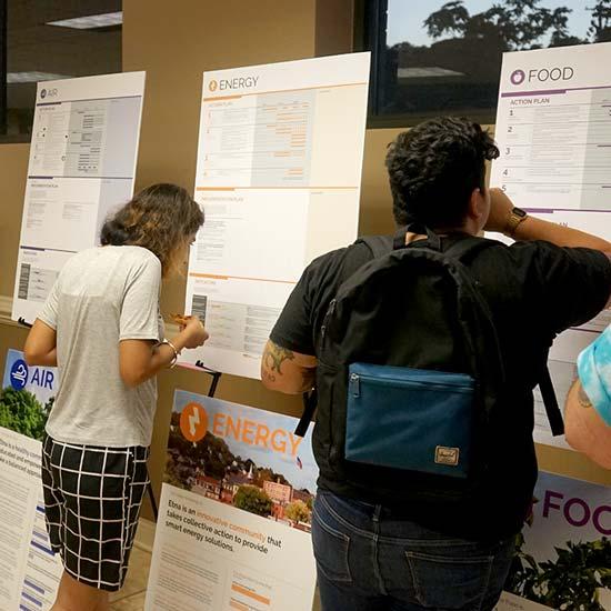 evolveEA etna ecodistrict planning